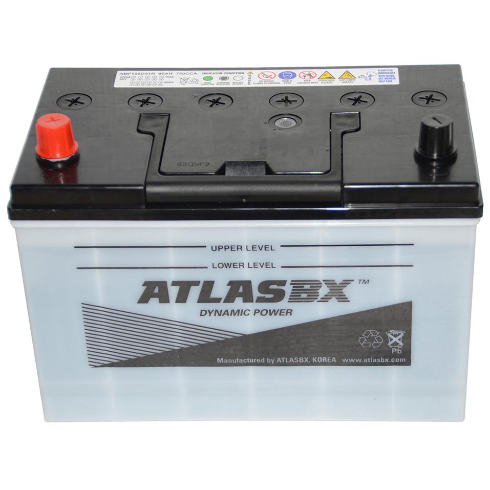 АКБ Atlas 90 А/ч MF105D31R