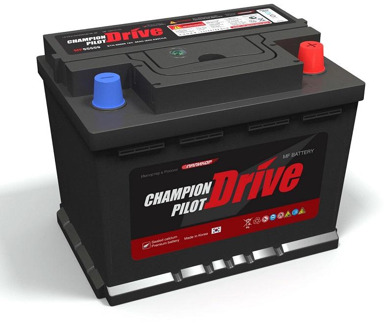 Автомобильный аккумулятор Champion Pilot MF 60B24L Drive 6СТ-52/520А Об Asia