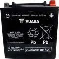 Yuasa YIX30L-BS (cp) 30А/ч-12Vст EN385 болт обратная 166x126x175
