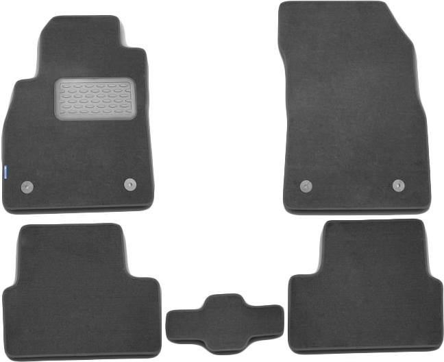 Автомобильный коврик Seintex 71683 3D для Chevrolet Cruze Black - фото 11