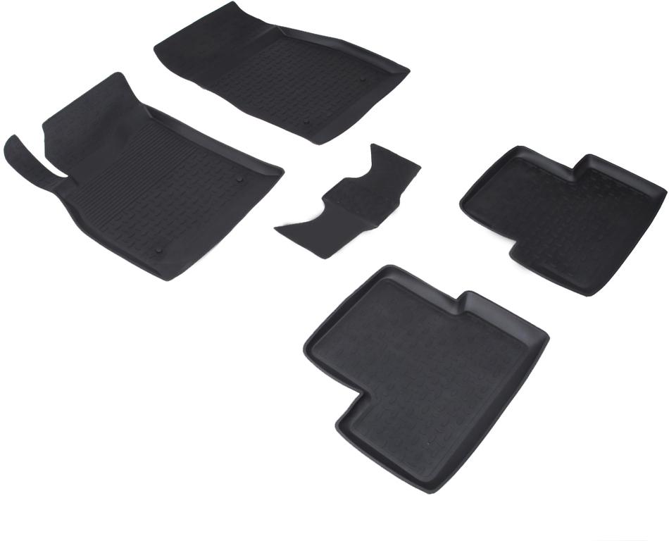 Автомобильный коврик Seintex 71683 3D для Chevrolet Cruze Black - фото 2