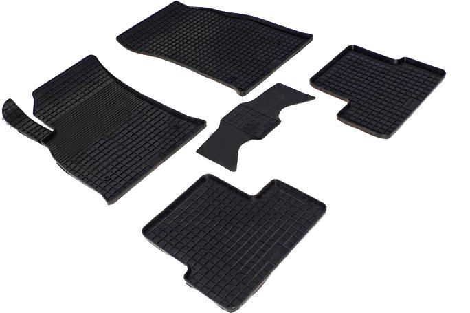 Автомобильный коврик Seintex 71683 3D для Chevrolet Cruze Black - фото 3