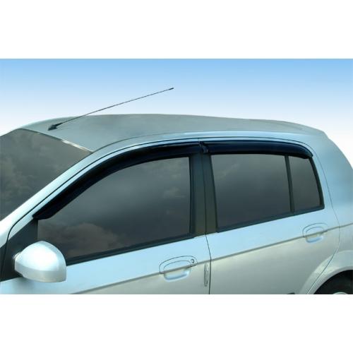Дефлекторы окон Vinguru Hyundai Getz 2002-2011 хэтчбек - фото 10