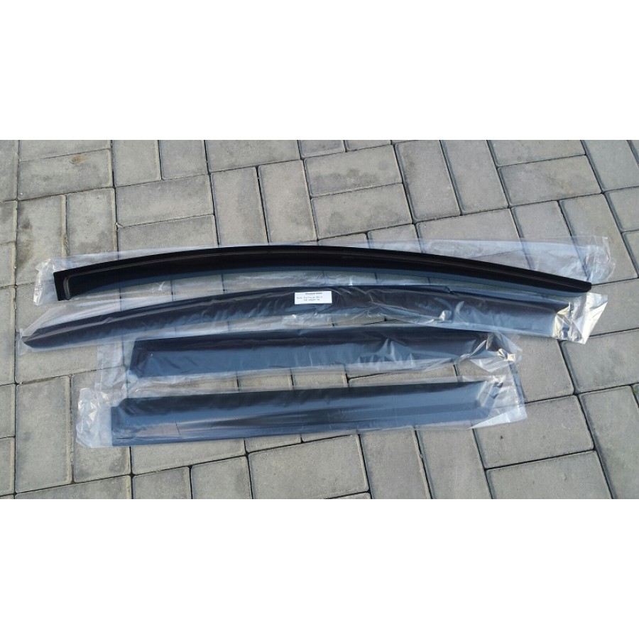Ветровики SkyLine Skoda Superb II SD 2008-2013-2015 Skyline SL-WV-662 - фото 8