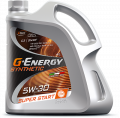 G-Energy Synthetic Super Start 5W-30 API SN/CF; ACEA C3 синтетическое 1л